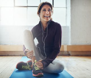 Exercising can leaving you feeling oh so great
